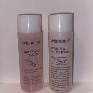 Mamonde Toner and Oil
